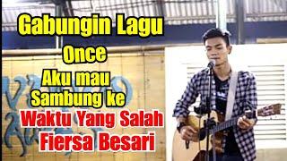 Download lagu Wow !!! Pengame Gabungin Once Aku Mau - Pindah ke Lagu Waktu Yang salah Fiersa Besari