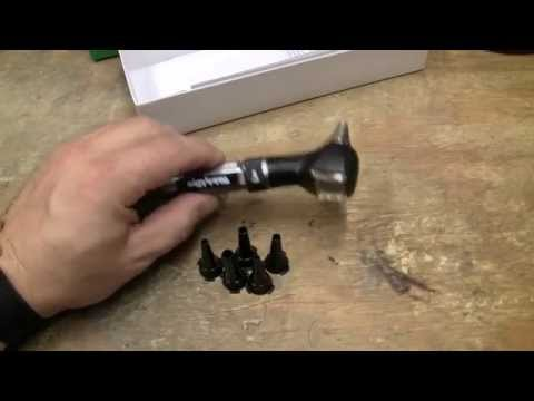 Welch Allyn Pocket Otoscope  AA Handle Overview