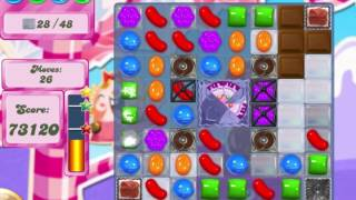 Candy Crush Saga Level 486 Clear all the Jelly!