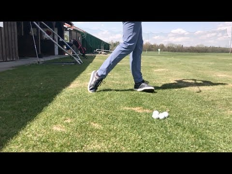 Stabilize your right foot for more control of your golf swing (Right handed Golfer)