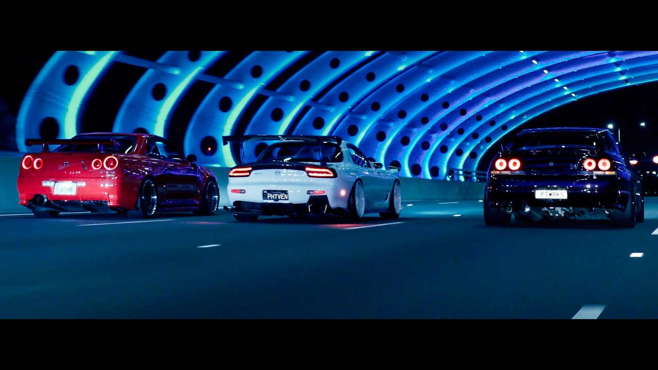 Download Midnight Run. (R34 GTR, FD RX7, Evo and more) | Zhiyun Crane 3 Lab | 4K