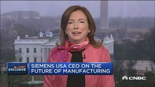 Siemens USA CEO Barbara Humpton on White House-CEO meeting