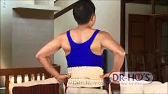 DR HO'S 2in1 Back Relief Belt