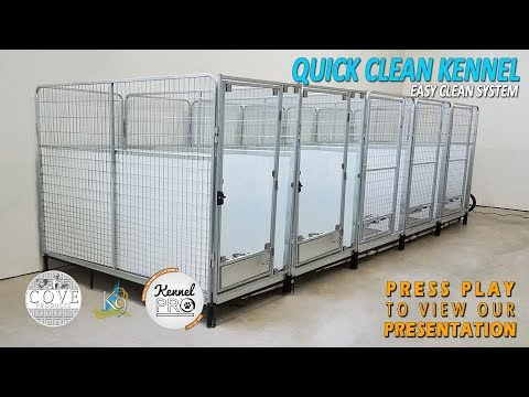 K9 Kennelstore Quick N Clean Kennels