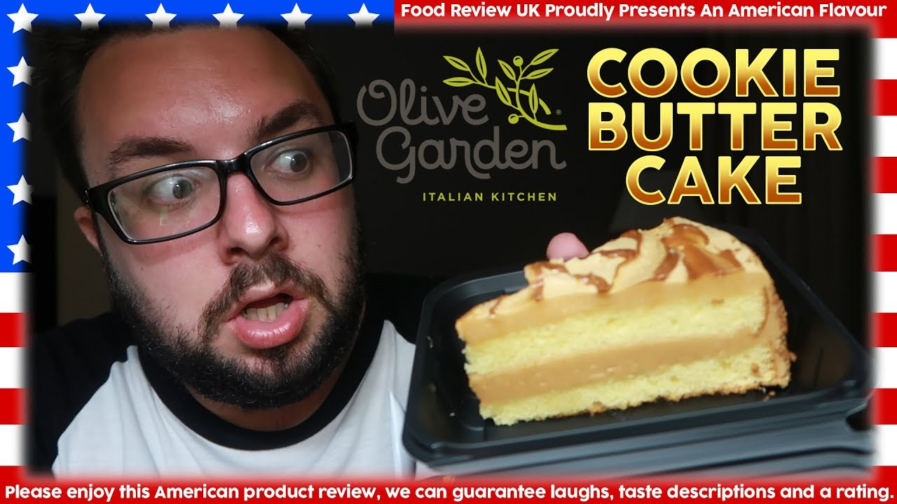 Olive Garden Cookie Butter Cake Review America Youtube