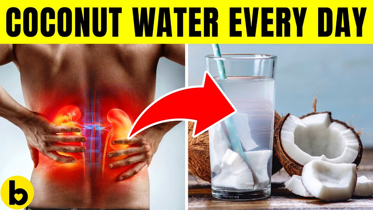 Drinking Coconut Water Everyday does this to your Body