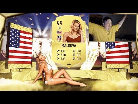 MIA MALKOVA PACKS ME A WALKOUT!!! - FIFA 20