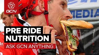 What Should I Eat Before A Hard Ride?   Ask Gcn Anything