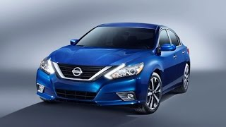 What's New in Nissan's New 2016 Altima?