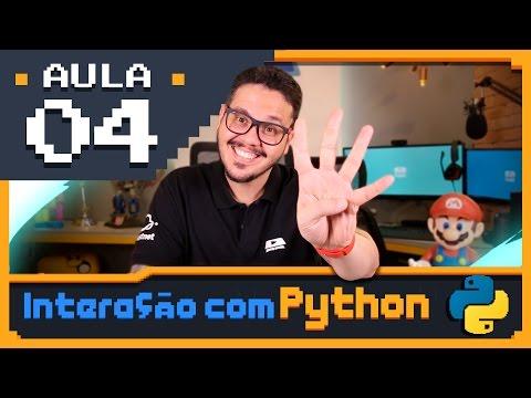 Curso Python #04 - Primeiros comandos em Python3