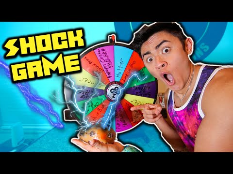 Getting Strangers to... SPIN WHEEL SHOCK GAME!!!