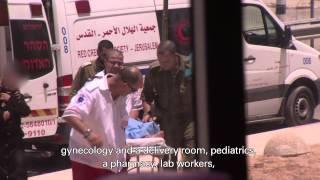IDF Sets Up Hospital for Gazans thumbnail