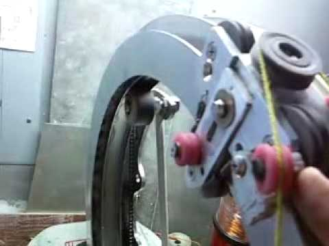 Toroidal Winder Home made part two