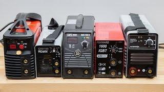 Тест сварочных аппаратов ММА на 160 А (полная версия)(Тестирование шести сварочных инверторных аппаратов с максимальным сварочным током 160 А для ручной электро..., 2014-11-10T10:28:27.000Z)