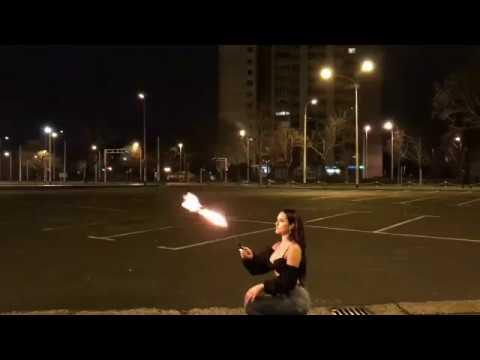 Lana - RIGANJE VATRE - kako se snimao spot 1.dio, PREMIJERA:  22.02.