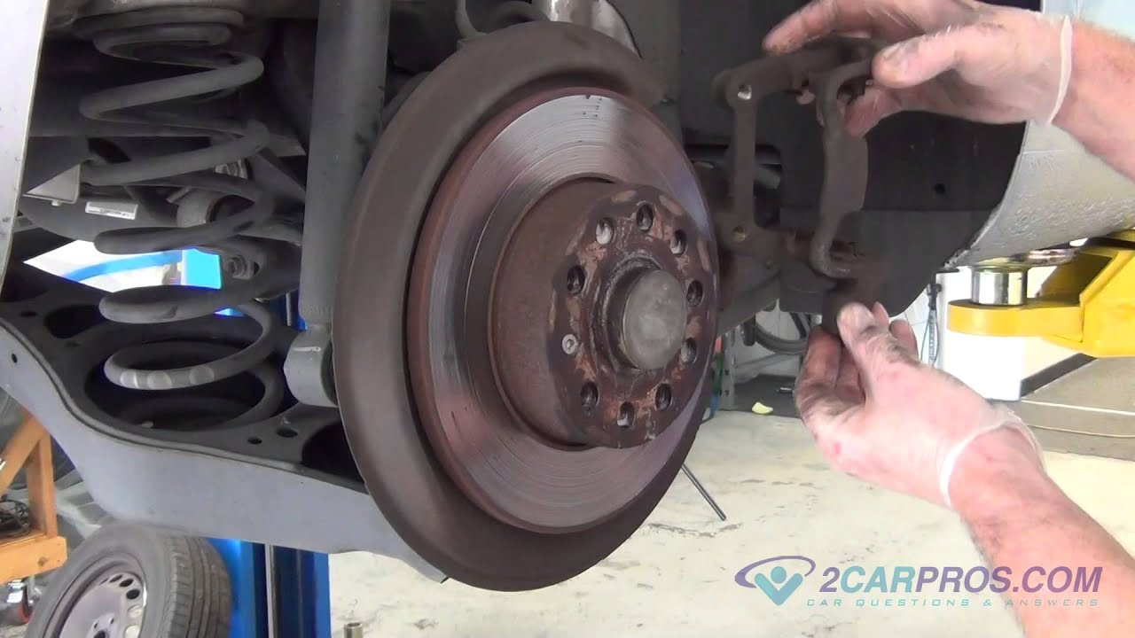 rear brake pads brake rotor replacement volkswagen jetta 2005 2010 rh youtube com Audi A4 Brakes and Rotors Audi A3 8V Front