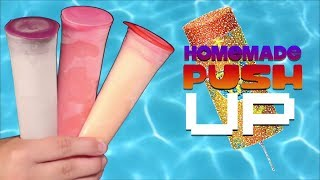 How to make Push Up popsicles at home