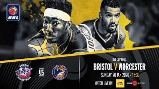 2019-20 BBL Cup Final: Bristol Flyers v Worcester Wolves - 26 Jan 2020