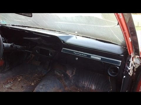 How To Restore A Pontiac A-body Dash