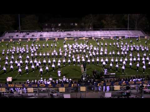 MSU Marching Band Part 1 at Grand Ledge 10-6-2010