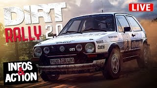 DiRT RALLY 2.0 LIVE - Infos und Action! [HD] Dirt Rally 2.0 German Gameplay Deutsch