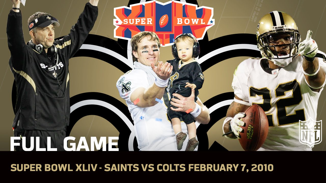 Super Bowl XLIV  Saints First Super Bowl  871893b74