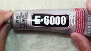 How To Use E6000 Glue In Jewelry Making