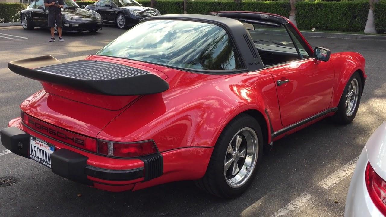 1986 Porsche 911 Targa Turbo Look Youtube