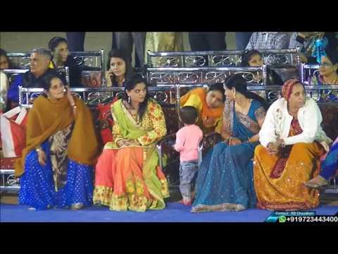 Manekpur | Piyush Weds Juhi | Amrutbhai Mukhi Parivar | Garba (Jignesh Kaviraj) | 27 Jan 2017