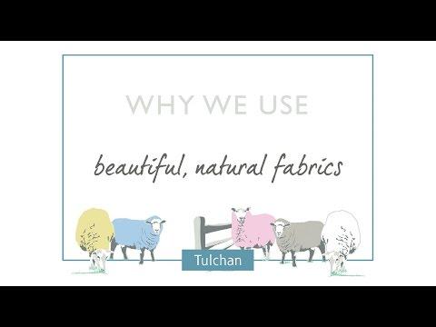 Why we use beautiful, natural fabrics at Tulchan