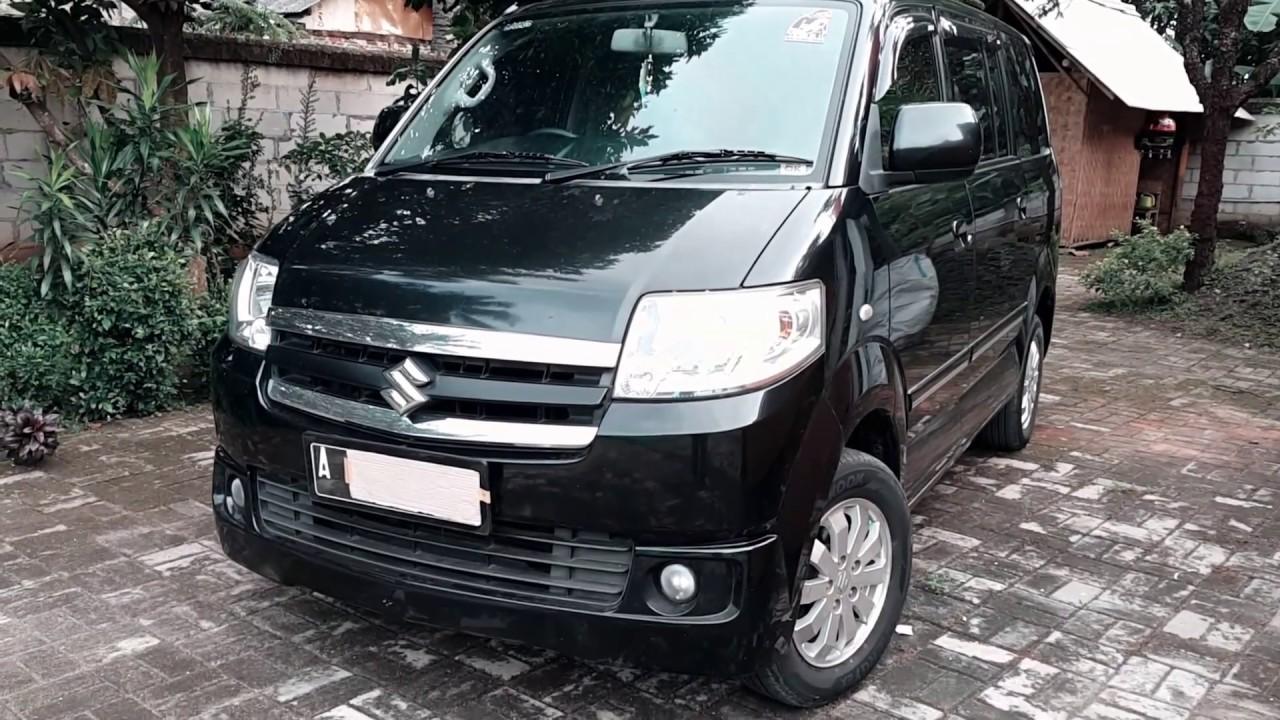 Suzuki Apv Arena Gx M T  Black Metallic Indonesian