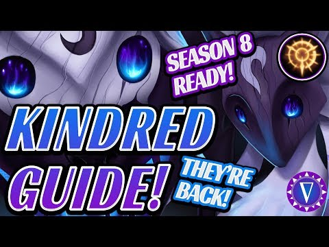 Rank Up With Kindred  Season 8 Ultimate Guide With New Runes!