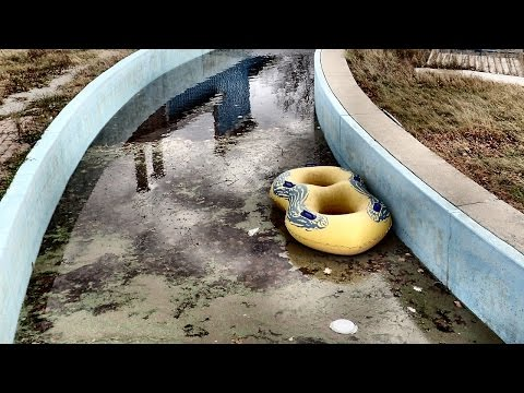Sad, Derelict Water Park - Wild Water Kingdom