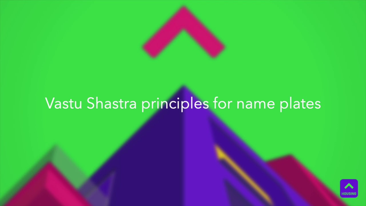 Vastu and décor tips for name plates | Housing News