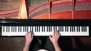 Bach 2 Part Invention No.8 - P. Barton, FEURICH Harmonic Pedal piano