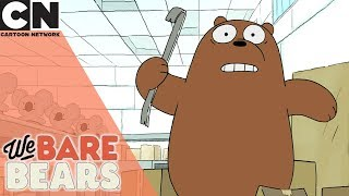 We Bare Bears | The Best Of Crowbar Jones | Cartoon Network UK