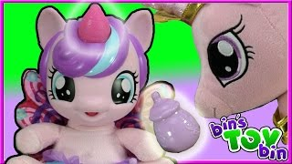 BABY FLURRY HEART My Little Pony Doll! Princess Cadance's Daughter! | Bin's Toy Bin