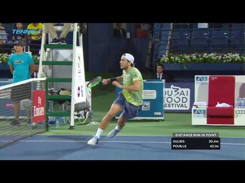 Dubai Tennis 2018 Hot Shot: Lucas Pouille