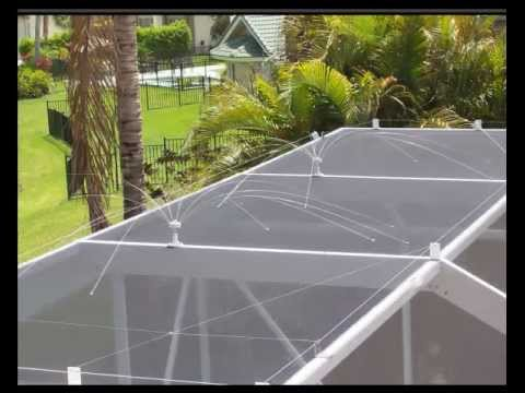 How To Keep Birds Off Your Screen Enclosure Youtube