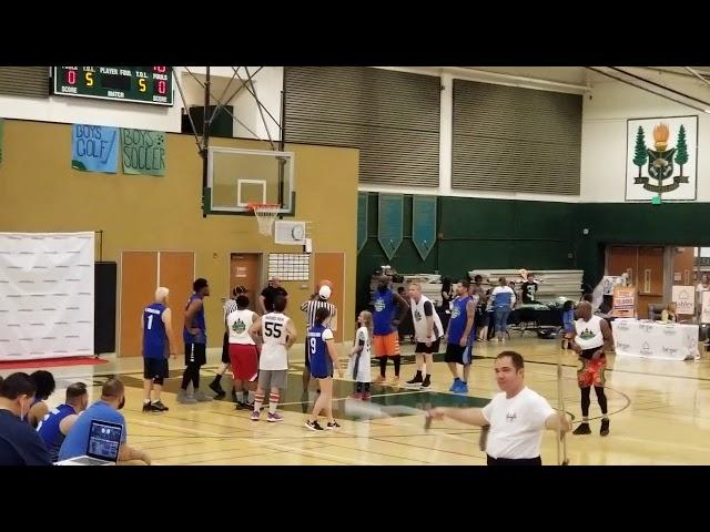 5th Celebrity Basketball game-White Team secret weapon p2