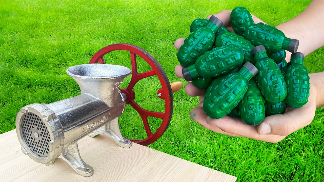 EXPERIMENT : DIFFERENT THINGS VS MEAT GRINDER