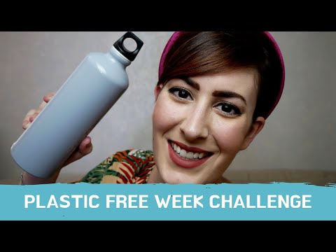 VIVO UNA SETTIMANA SENZA PLASTICA USA E GETTA || PLASTIC FREE WEEK CHALLENGE #BREAKFREEFROMPLASTIC