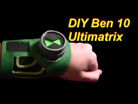 Ben 10 Ultimatrix DIY Cheap and Easy