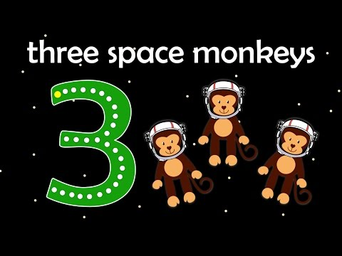Learn to Count to 10 with Space adventure | Real space sounds | Write numbers | Fun learning