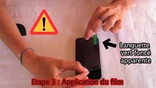 Tutorial FR - Film protection iPhone 4/4S de Lux Lex