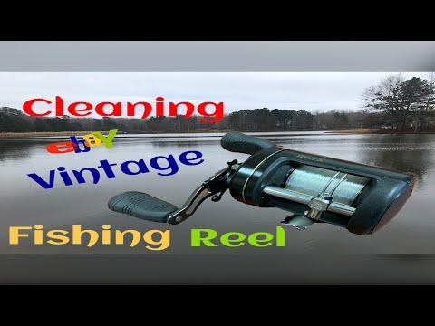 How To Clean {ebay} Vintage Fishing Reel.