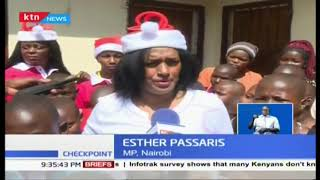 Nairobi Women Rep Esther Passaris partners with Radio Maisha as they visit Children homes