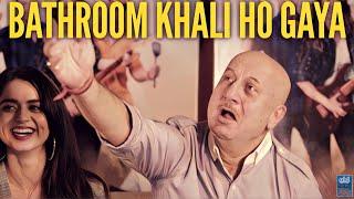 Ranchi Diaries Stars Anupam Kher, Himansh Kohli, Satish Koshik On ODF | Funny Interview