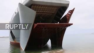 Russia: Russian Navy holds Black Sea drills amid NATO's Sea Shield