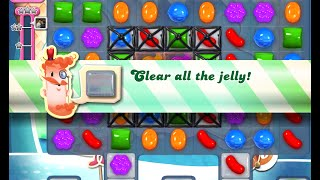 Candy Crush Saga Level 513 walkthrough (no boosters)